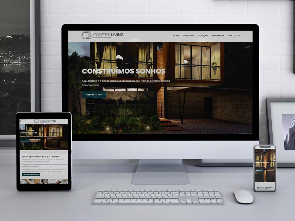Construliving - Website